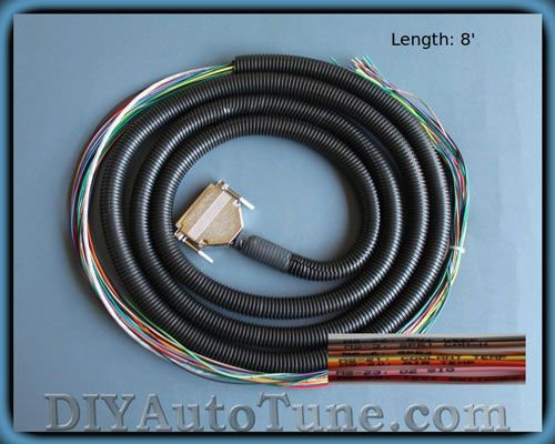 MS3Harness.500 10' megasquirt wiring harness (ms1 ms2 ms3 ready) wot tech Wiring Harness Diagram at bayanpartner.co