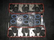 Small Port to Large Port Hybrid Intake Gasket Set